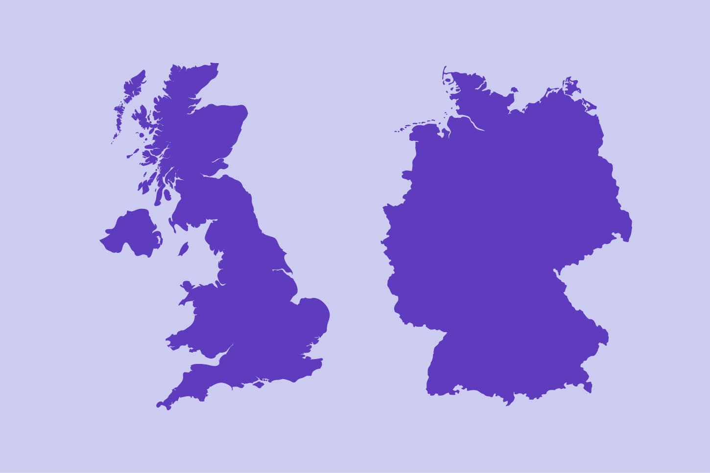 Purple UK and Germany graphic